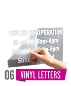 Vynil Letters